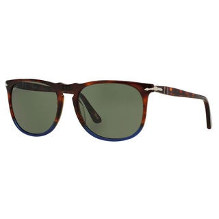 Persol Men's PO3113S Plastic Square Sunglasses