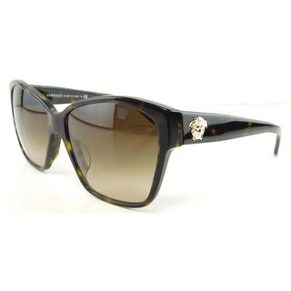 Versace Women's VE4277A Plastic Butterfly Sunglasses