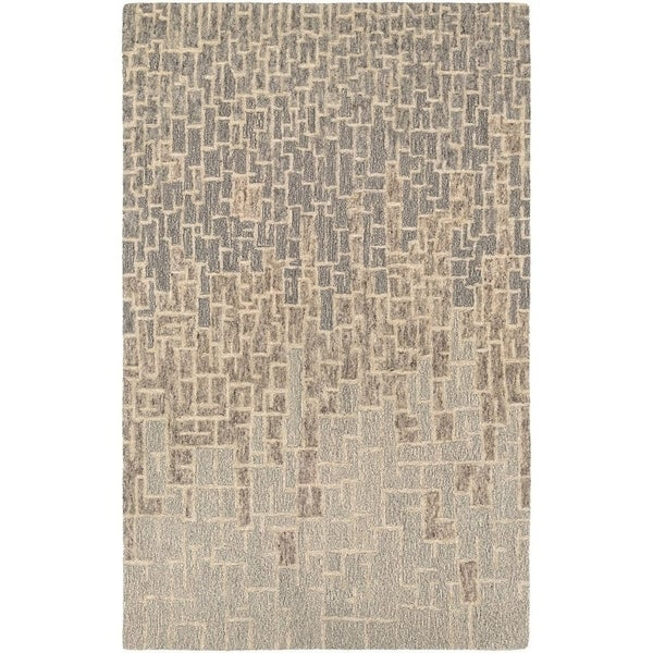 Couristan Super Indo-Natural Rosalyne/Multi Wool Area Rug - 3'6 x 5'6