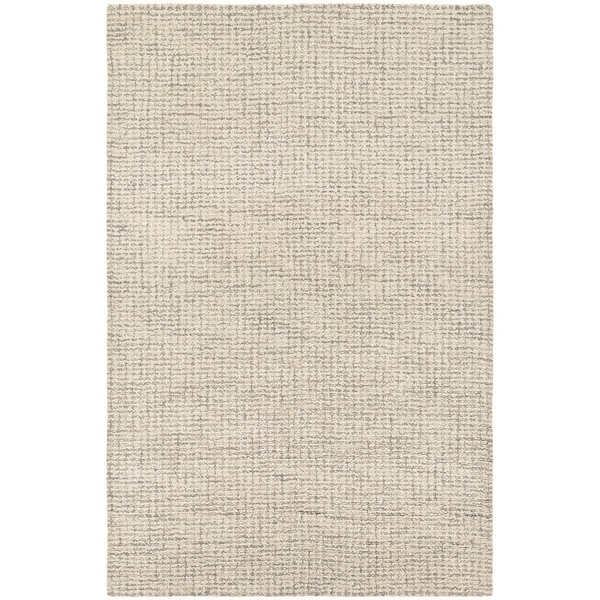 Couristan Super Indo-Natural Bogard/Light Brown Wool Area Rug - 3'6 x 5'6