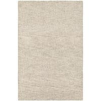 Couristan Super Indo-Natural Bogard/Light Brown Wool Area Rug - 3'6 x 5'6