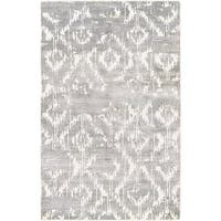 Couristan Sagano Bauble/Dusty Blue-Ivory Area Rug - 3'5 x 5'5