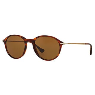 Persol Men's PO3125S Plastic Phantos Polarized Sunglasses
