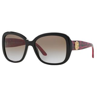 Versace Women's VE4278B Plastic Square Sunglasses