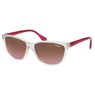 Vogue Women's VO2729S Plastic Cat Eye Sunglasses