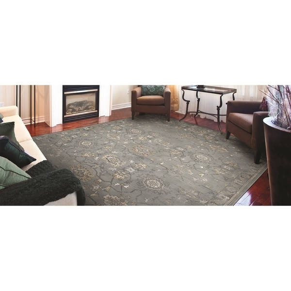 Couristan Provincia Odette Mint Cream Area Rug 3 X27