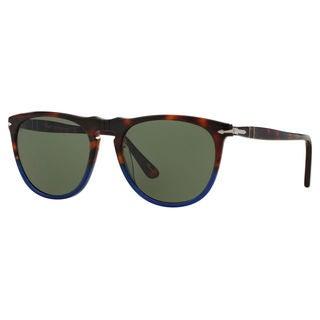 Persol Men's PO3114S 102231 Tortoise Plastic Pilot Sunglasses