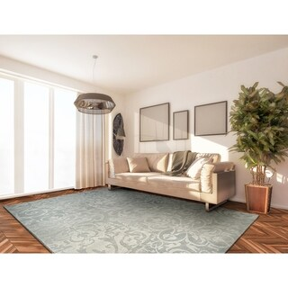 Couristan Marina Cyprus/Pearl-Champagne Area Rug - 3'11 x 5'6