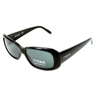 Vogue Women's VO2606S Plastic Rectangle Sunglasses