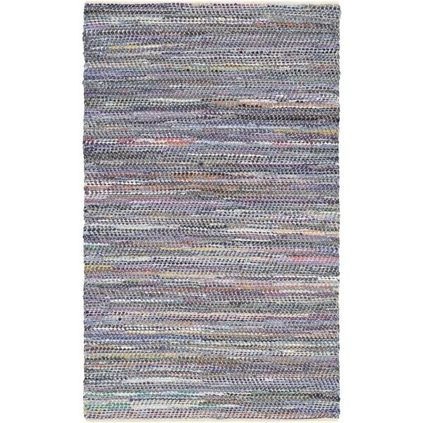 Couristan Nature's Elements Shadows/Denim-Multi Area Rug - 4' x 6'