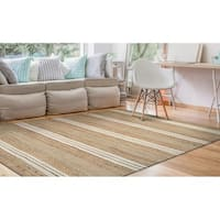 Couristan Nature's Elements Ray/Natural-Ivory Area Rug - 4' x 6'