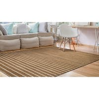 Couristan Nature's Elements Desert Sand Dune/Ivory Area Rug - 4' x 6'