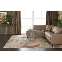 Nourison Expressions Multicolor Rug - 7'9 x 10'10