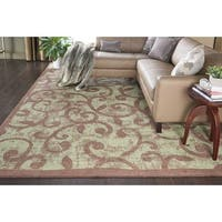 Nourison Expressions Brown Rug - 5'3 x 7'5