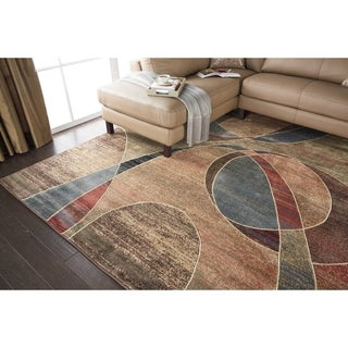 Nourison Expressions Multicolor Rug (5'3 x 7'5)