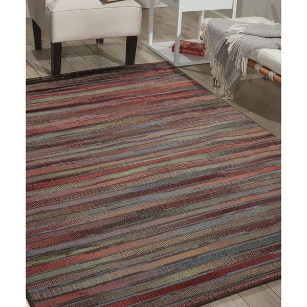 Nourison Expressions Multicolor Rug - 5'3 x 7'5
