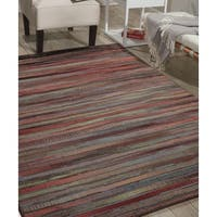 Nourison Expressions Multicolor Rug (5'3 x 7'5) - 5'3 x 7'5