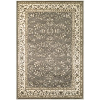Couristan Konya Manyas Light Brown/ Ivory Area Rug (3'11 x 5'6)