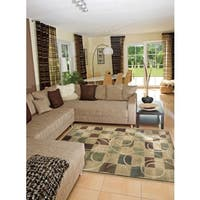 Nourison Expressions Beige Accent Rug - 2' x 2'9