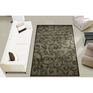 Nourison Expressions Brown Accent Rug (2' x 2'9)