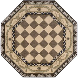 Nourison Grand Parterre Multicolor Octagon Rug (5'6 x 5'6)