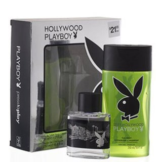 Playboy Hollywood by Coty for Men 2 Piece Gift Set