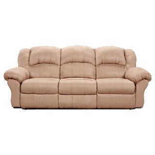 Sensation Dual Reclining Sofa, Camel Tan