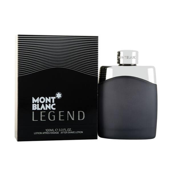 Shop Black Friday Deals On Mont Blanc Legend Men S 3 3 Ounce Aftershave Lotion Black Overstock 10438470