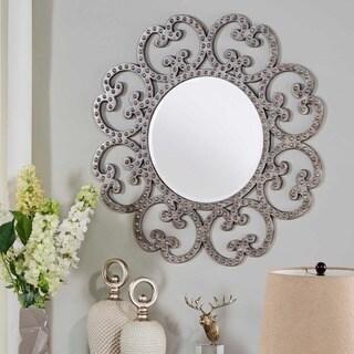 Quinn Scrollwork Frame Accent Wall Mirror