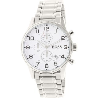 Hugo Boss Men's Aeroliner 1513182 Stainless Steel Quartz Watch