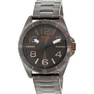 Hugo Boss Men's Berlin 1512999 Grey Stainless Steel Quartz Watch