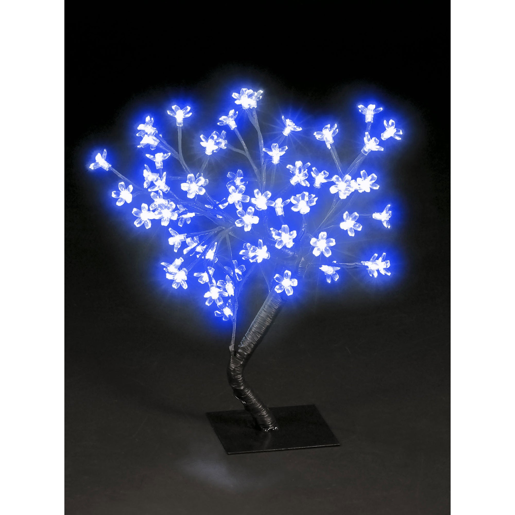 1.5-foot Blossom Tree 48 Blue Leds UL Lights (Blue) (Plas...