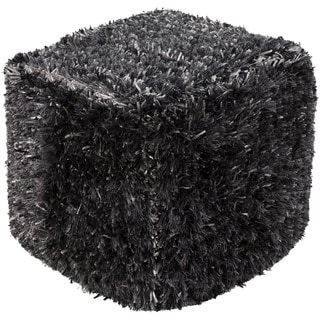 Solid Ulis Square Polyester 18-inch Pouf
