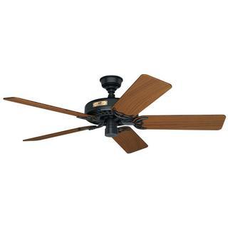 Hunter Original Fan 52-inch Black Teak 5-blade Ceiling Fan