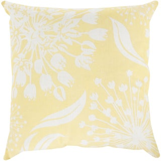 Decorative Cortez Floral 18-inch Throw Pillow