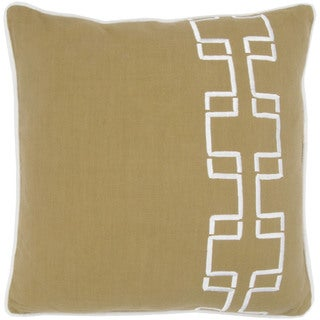 Rizzy Home Sage 18-inch Geometric Throw Pillow