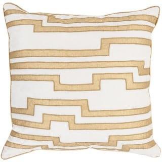 Decorative Earnest Geometric 22-inch Throw Pillow