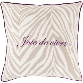 Decorative Claire French 18-inch Throw