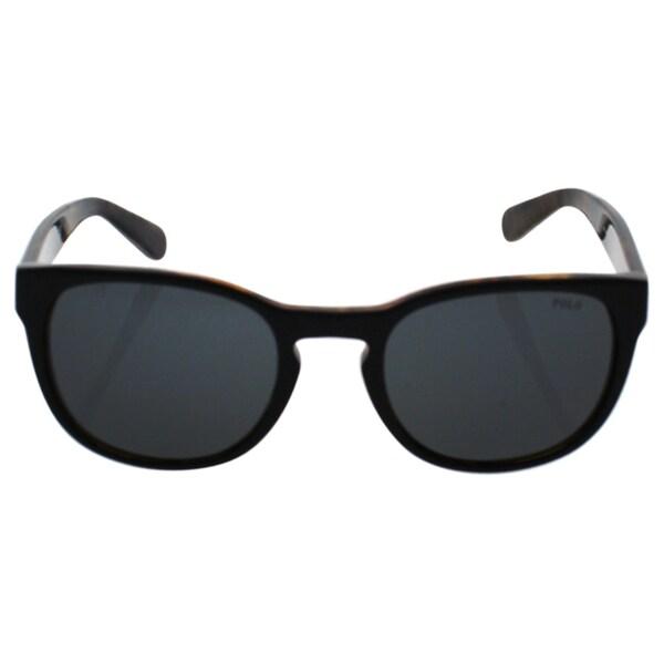 0a40fb4745 Polo Ralph Lauren Men  x27 s PH4099 Plastic Phantos Sunglasses - Black -  Large