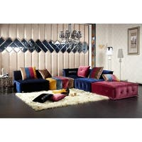 Divani Casa Dubai Transitional Fabric Sectional Sofa