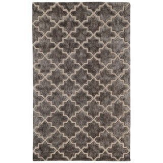 Kosas Home Berk Over Tufted Wool Blend Rug (8' x 10')