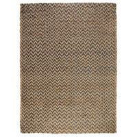 Kosas Home Handspun Harrington Jute Charcoal Rug - 8' x 10'