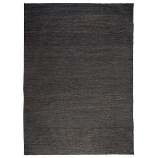 Kosas Home Handspun Tessa Soumak Natural Fiber Jute Charcoal Rug - 8' x 10'