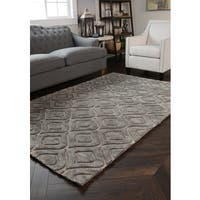 Kosas Home Handwoven Zani Wool Grey Rug - 8' x 10'