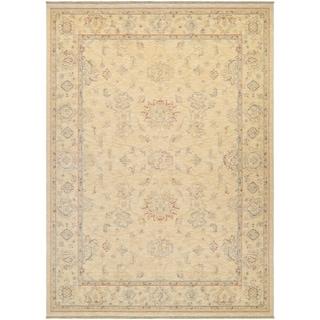Couristan Elegance Alastair/Tan-Multi Wool Area Rug - 4'7 x 6'4