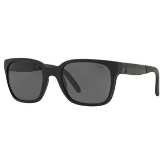 Polo Ralph Lauren Men's PH4089 Plastic Square Sunglasses