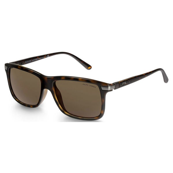 5c354b4976f Polo Ralph Lauren Men  x27 s PH4084 Plastic Rectangle Sunglasses - Tortoise  - Large