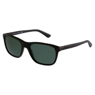 Polo Ralph Lauren Men's PH4085 Plastic Square Sunglasses