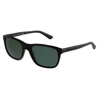 Polo Ralph Lauren Men's PH4085 Plastic Square Sunglasses