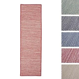 Casual Tweed Wool-blend Runner (2' x 7')